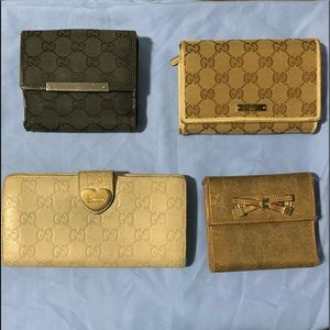 Authentic Gucci wallets